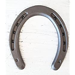New Steel Horseshoes - Plain Shoe Size 0 - Sand Blasted - The Heritage Forge Size 0 - 40 Shoes