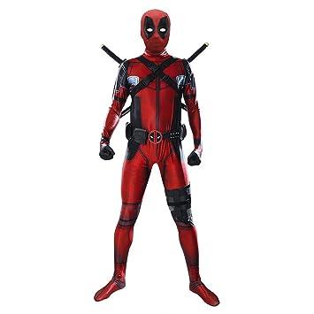 CAKGER Deadpool Medias de Halloween Cosplay Traje Traje del ...