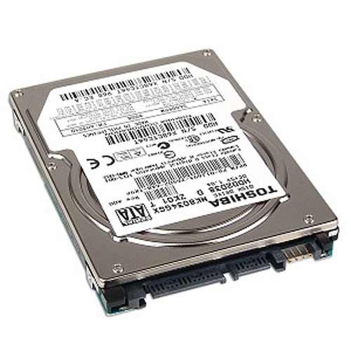 Toshiba MK8034GSX 80GB SATA/150 5400RPM 8MB 2.5-Inch Notebook Hard Drive