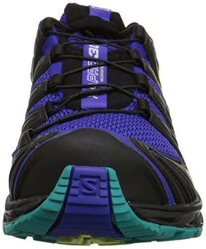 Blau Blue F Women's 3D Course Chaussure Pro Blue XA Bleu AW15 Spectrum Trial Salomon Black Teal zfpqw6c