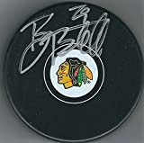 Autographed Bryan Bickell Chicago Blackhawks Hockey Puck