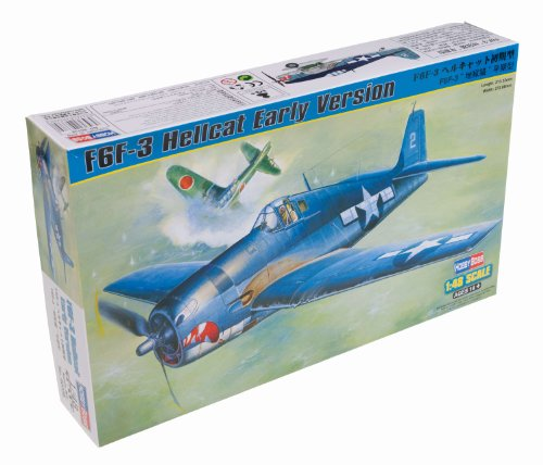 Early Version Fighter (Hobby Boss F6F-3 Hellcat Early Version Airplane Model Building Kit)