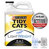 Tidy Cats 4-in-1 Strength Lightweight Cat Litter for Multiple Cats - 3.86 kg
