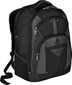 Targus Conquer Backpack Designed to Fit up to 16-Inch Laptops TSB214US (Black/Gray)