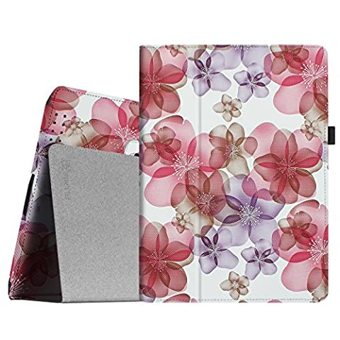 Fintie iPad 2/3/4 Case - Slim Fit Folio Case with Smart Cover Auto Sleep / Wake Feature for Apple iPad 2, iPad 3 & iPad 4th Generation with Retina Display - Floral (Original Ipad 4 Case)