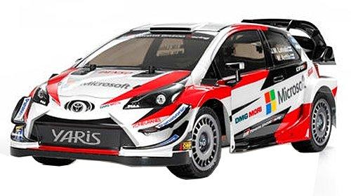 タミヤ 1/10電動RCカーシリーズ No.659 トヨタ ガズーレーシング WRT/ヤリス WRC (TT-02シャーシ) オンロード 58659 B07FCG1G4G