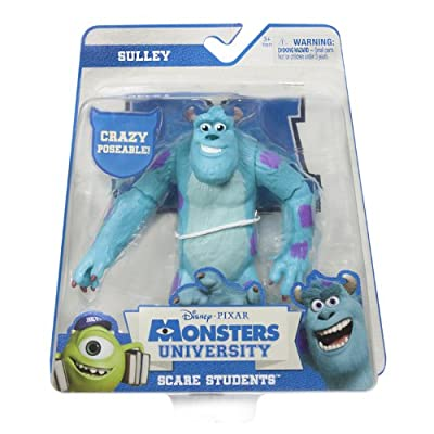 Monsters University - Scare Students - Sulley (Styles Vary): Toys & Games