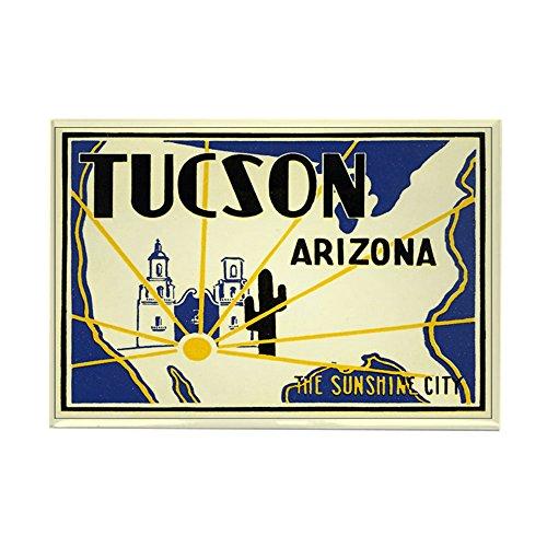 (CafePress Tucson; Sunshine City Rectangle Magnet, 2