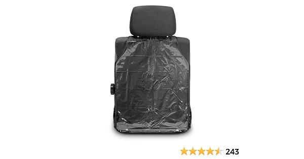 negro Protectores universales de la cubierta trasera del asiento de autom/óvil para ni/ños Proteja la parte posterior de las fundas de los asientos autom/áticos para beb/é de Mud Dirt