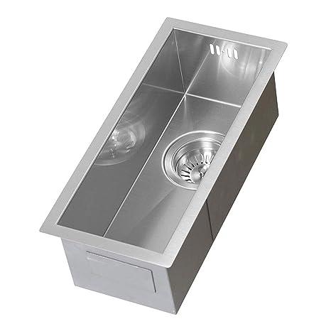Fregadero de cocina sobre mostrador Lavabos de acero ...