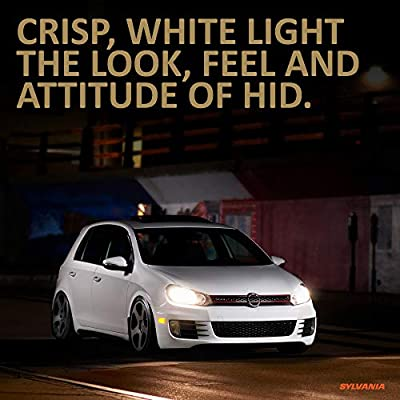 SYLVANIA - 9007 (HB5) SilverStar zXe GOLD High Performance Halogen Headlight Bulb - Bright White Light Output, Best HID Alternative, Xenon Charged Technology (Contains 2 Bulbs): Home Improvement