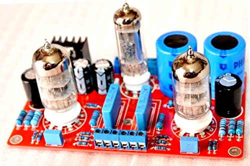6z4 tube rectifier + 6N3-J tube cathode output tube preamp amplifier board by Electronics BoardJINGLUYAO