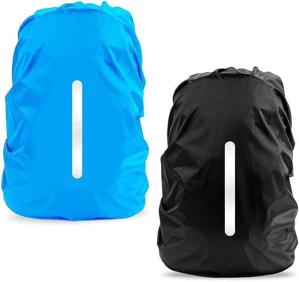 Reflektierende wasserdichte Rucksack Regenschutz Nachtlicht Regenschutz Ca RSPF