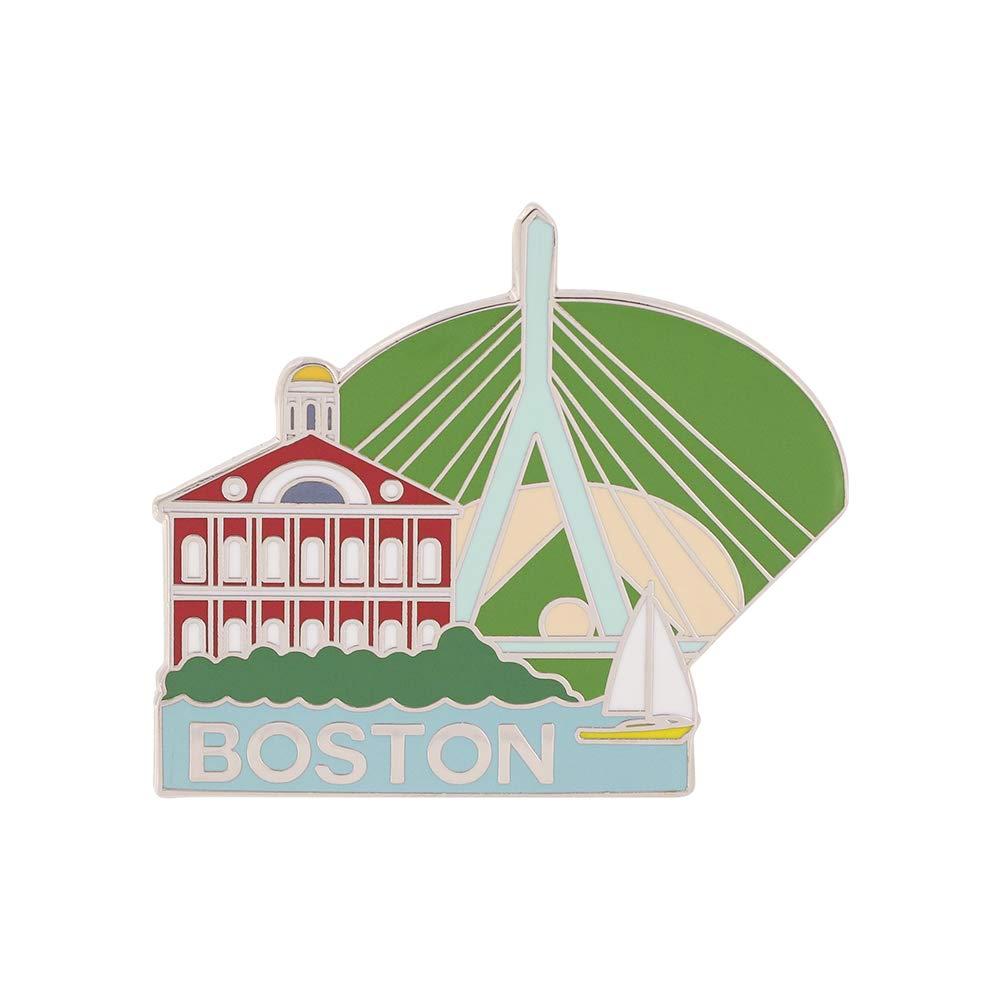 WIZARDPINS Boston Faneuil Hall Fenway Park Bay Souvenir Pin