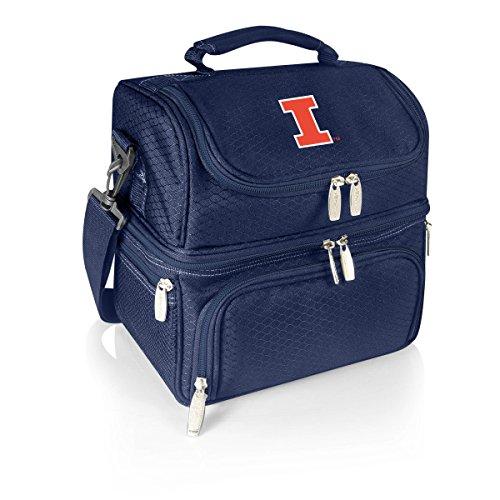 (NCAA Illinois Illini Pranzo Insulated Lunch Tote,)