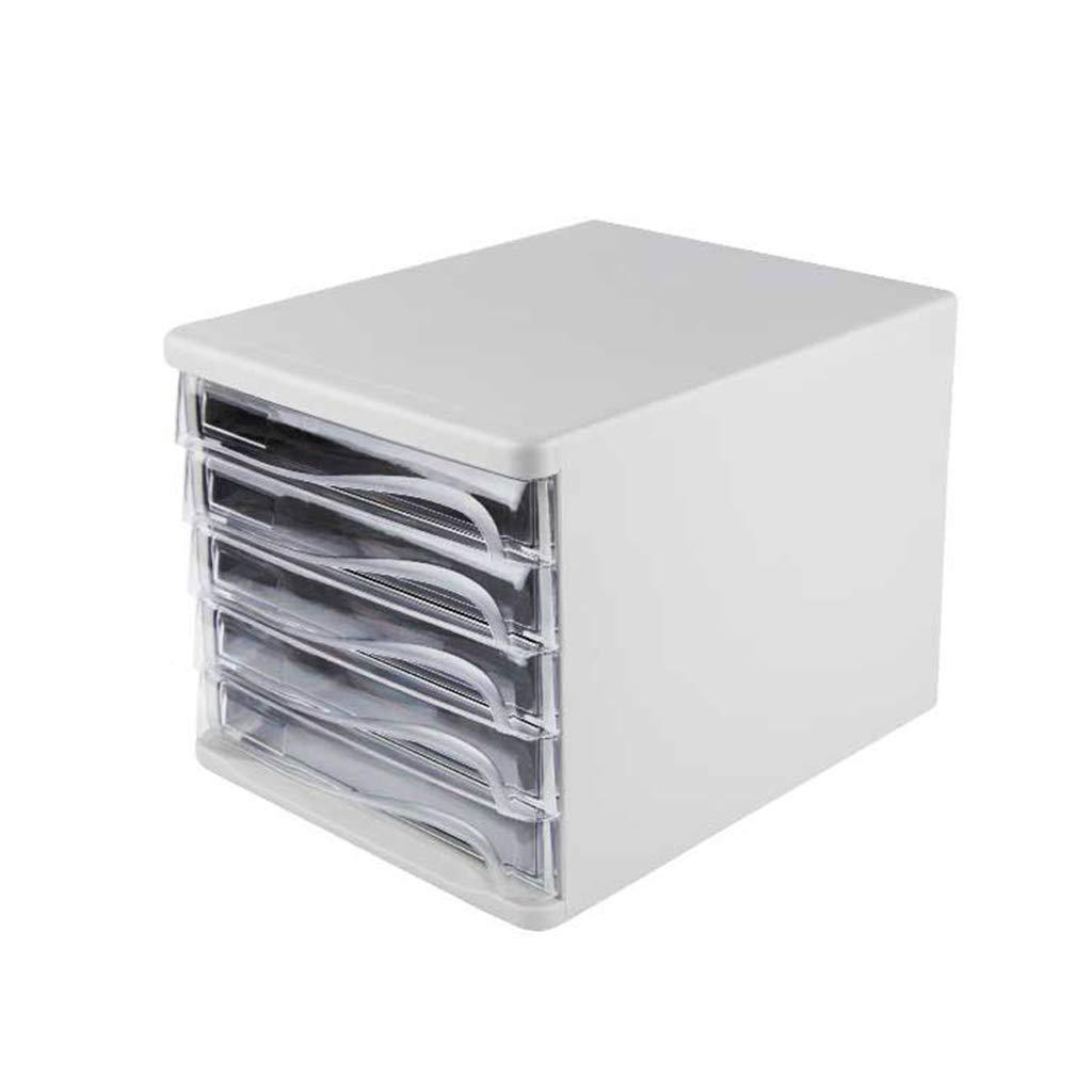 File Cabinet, Desktop Extended Drawer Office Organizer (ABS) 26.53424.8CM (Color : A)