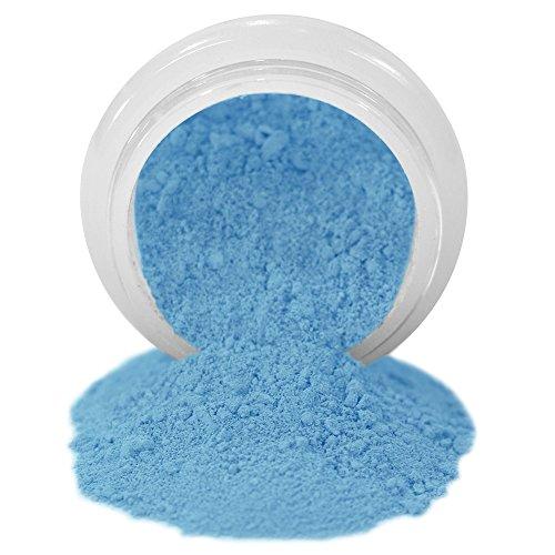 ColorPops by First Impressions Molds Matte Blue 9 Edible Powder Food Color For Cake Decorating, Baking, and Gumpaste Flowers 10 gr/vol single jar (Buttercream Frosting Pink Shower)