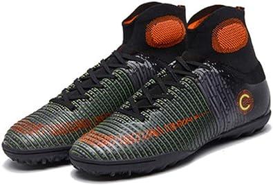 LYLZR Chaussures de Football pour Enfants Adultes