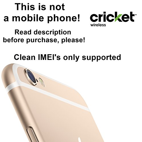 Cricket USA Factory Unlock Service for iPhone Mobile Phones - Clean IMEI`s Only Supported - Feel the Freedom