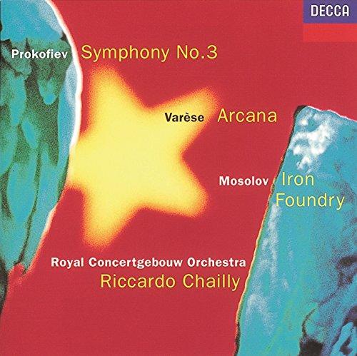Prokofiev: Symphony No. 3 / Mosolov: Iron Foundry / Varèse: ()