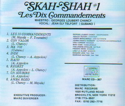 Skah-Shah #1: Les Dix Commandements by Marc Records