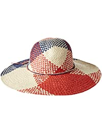 Women's Americana Wide Brim Paper Straw Hat