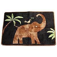 Allure Essential Home Safari Jungle Polyester 20 x 30 Inch Rug