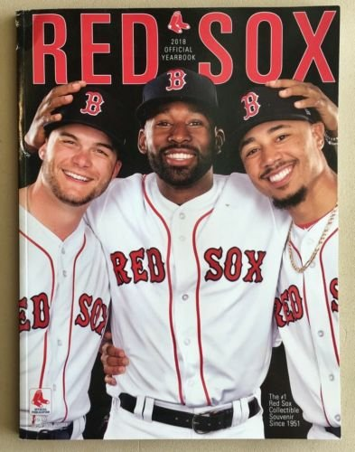 Baseball 2018 RED SOX Yearbook Program World Series 112 Pages Official Team Yearbook