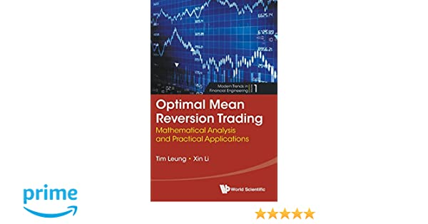 Amazon com: Optimal Mean Reversion Trading: Mathematical