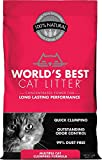 World's Best Cat Litter Cat Scoopable Multiple Cat Clumping Formula, 14-Pound Bag