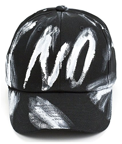 Baseball Cap Painting Splatter Paint Hat Snapback Art Pattern Splash Cotton Strapback Adjustable (Black) - Paint Splatter Cap