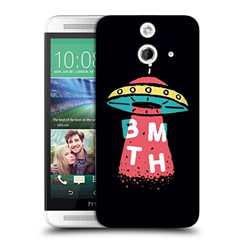 Official Bring Me The Horizon UFO Key Art Hard Back Case for HTC One E8 / E8 Dual Sim
