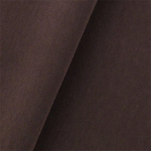 Suiting Weave (Sangria Brown Double Weave Crepe Suiting, Fabric By the Yard)