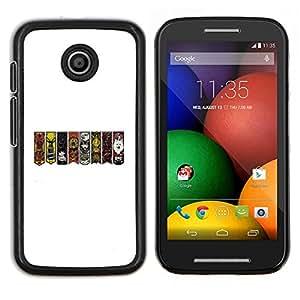 LECELL--Funda protectora / Cubierta / Piel For Motorola Moto E -- GOT Sygils --