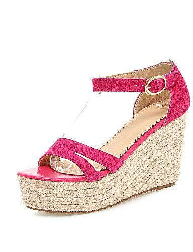 ShangYi Women's Shoes Wedge Heel Wedges / Heels / Platform / Creepers Sandals Party  Evening / Dress /
