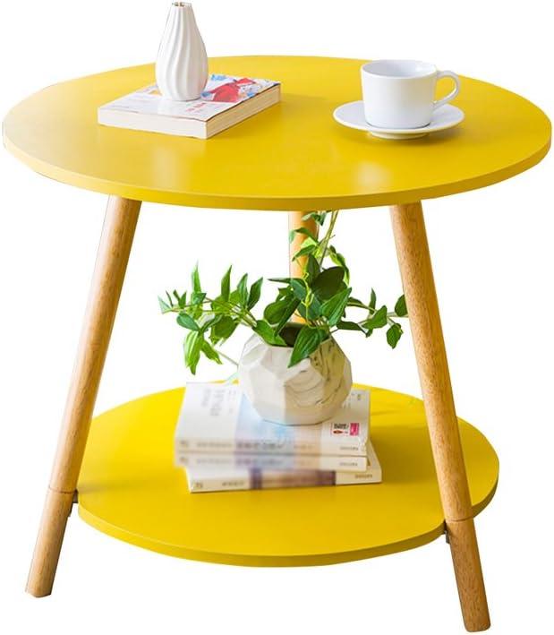 Hot Koop KangJZ-Tables KJzhu woonkamertafel, creatieve multi-layer-salontafel sofa kant slaapkamer combinatie balkon restaurant multifunctionele thee tafel groot A-59*52cm alYoNWO