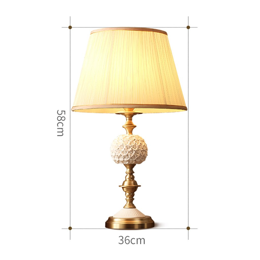 TD- Ceramic table lamp, living room table lamp bedroom bedside lamp ...