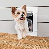 PetSafe New Wall Entry Dog and Cat Door - Pet Door with Telescoping Tunnel - Small