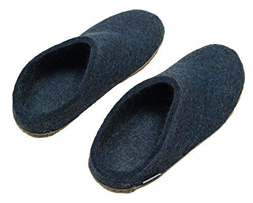 Pantofola In Denim Di Feltro Per Adulti Unisex Da 01-00