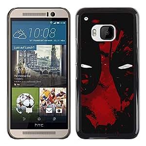 Stuss Case / Funda Carcasa protectora - Oscuro de la araña del superhéroe - HTC One M9