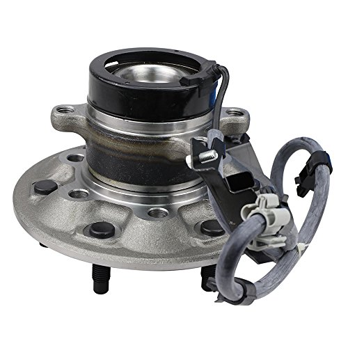 Photo CRS NT515107 New Wheel Bearing Hub Assembly, Front Right (Passenger) side, for 2004-08 Chevy Colorado/GMC Canyon, 2006-08 ISUZU I-280/ I-290, w/ ZQ8 Sport Chassis, RWD