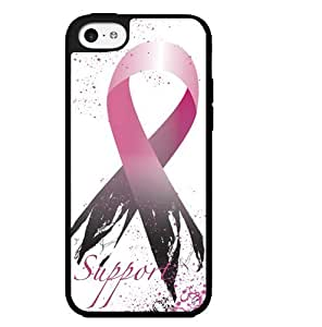Support Breast Cancer Survivors Ribbon Hard Snap on Phone Case (iPhone 5c)