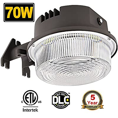70W LED Barn Lights Dusk to Dawn Outdoor Area Lights Photocell Included BBOUNDER 9800LM (700W Incandescent Equiv.) 5000K Daylight Weatherproof ETL&DLC Listed for Yard Street 5-Year Warranty
