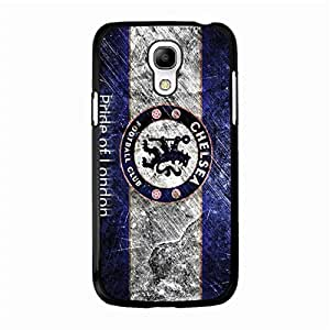 Cover Case Chelsea FC Logo Phone Case Particular CFC Chelsea Mark Back for Samsung Galaxy S4 Mini