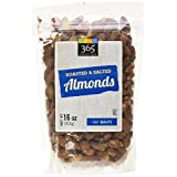 365 Everyday Value Roasted & Salted Almonds, 16 oz