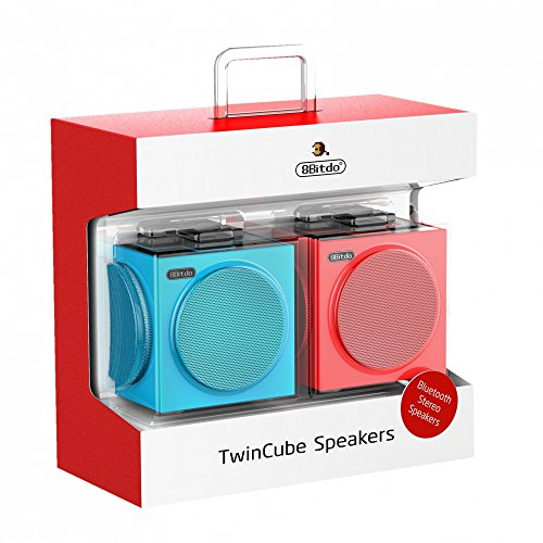 (8Bitdo Twin Cube Stereo Bluetooth Speakers)