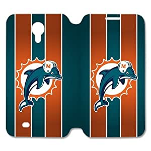 SUNNYGOOD Football sports Miami Dolphins Custom Cover Iphone 5/5S