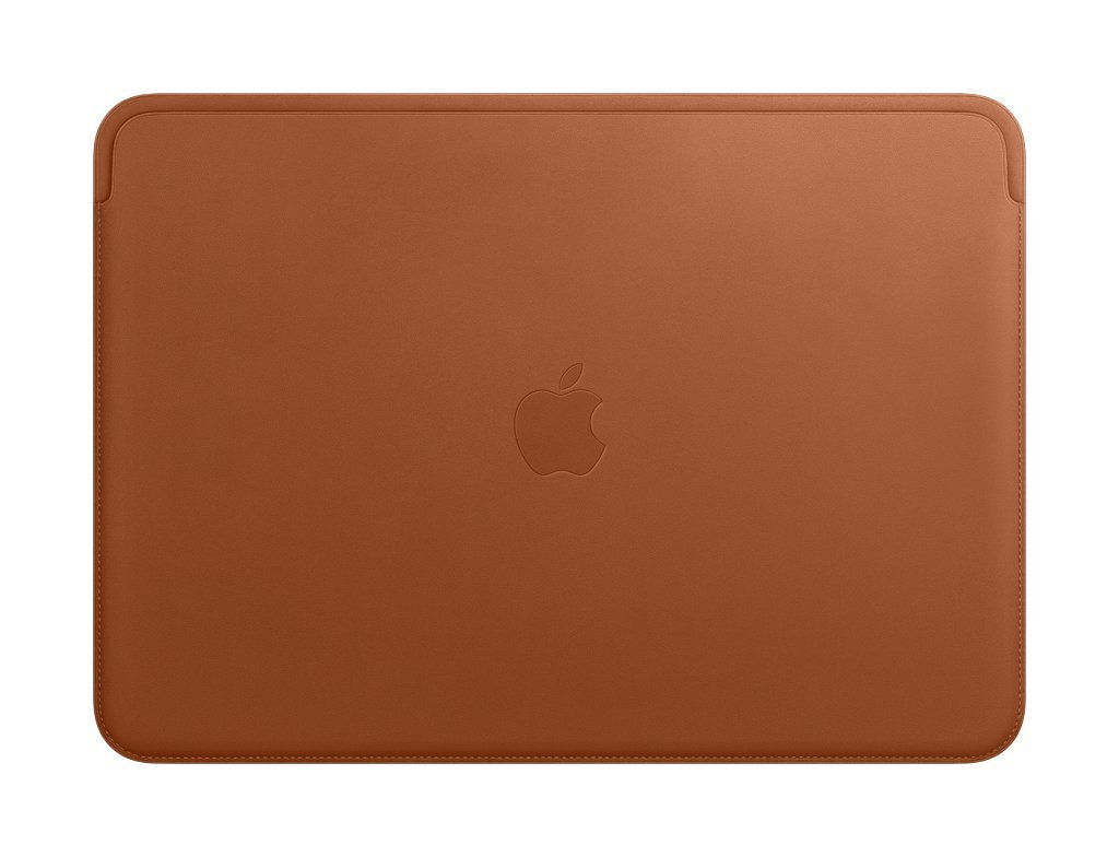 Apple Leather Sleeve (for MacBook Pro 13-inch Laptop) - Saddle Brown by Apple (Image #1)