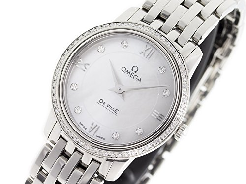 Omega De Ville swiss-quartz womens Watch 424.15.27.60.55.001 (Certified Pre-owned)