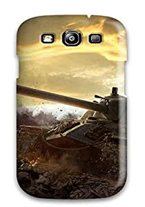 Excellent Galaxy S3 Case Cover Back Skin Protector World Of Tanks Game